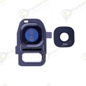 Camera Lens and Bezal for Samsung Galaxy S7/S7 Edge Sapphire
