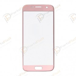 Front Glass Lens for Samsung Galaxy S7 Rose Gold Original