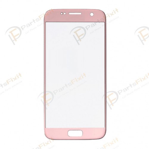 Front Glass Lens for Samsung Galaxy S7 Rose Gold O...