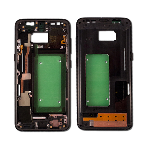 Front Housing for Samsung Galaxy S8 Black