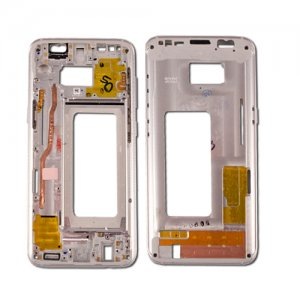 Front Housing for Samsung Galaxy S8 Silver