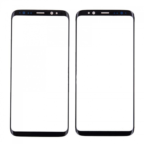 Front Glass Lens for Samsung Galaxy S8 Plus Black
