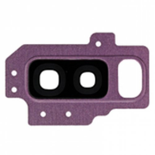 Camera Lens and Bezel for Samsung Galaxy S9 Plus Purple