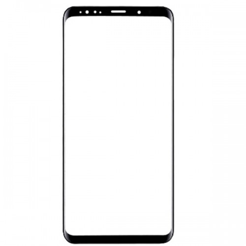 Glass Lens for Samsung Galaxy S9 Plus Black