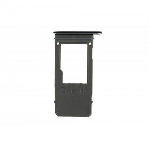 SD Card Tray for Samsung Galaxy A520 Black Original