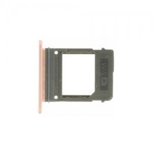 SIM Card Tray for Samsung Galaxy A520 Pink Original