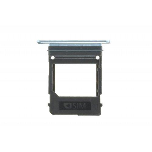 SIM Card Tray for Samsung Galaxy A520 White/Blue Original