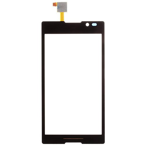 Digitizer Touch Screen for Sony Xperia C S39h Black