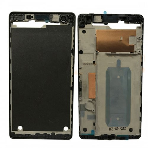 Front Housing for Sony Xperia C4 Black