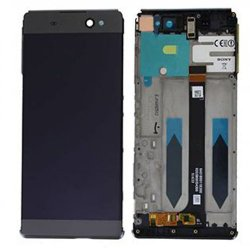 LCD Screen With Frame for Sony Xperia C6/XA Ultra Black(Third Party)
