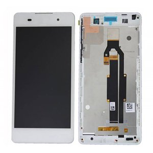 LCD Screen With Frame for Sony Xperia E5 White
