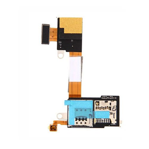 SIM Card Reader Contact Flex Cable Ribbon for Sony Xperia M2 D2303 D2305 D2306