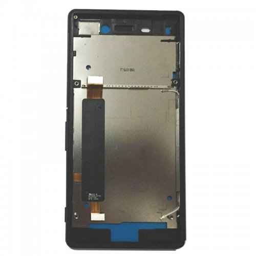 Front Housing for Sony Xperia M4  Aqua Black