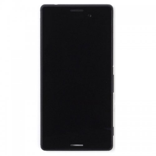 LCD Screen With Frame for Sony Xperia M4 Aqua  Bla...