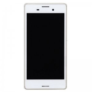 LCD Screen With Frame for Sony Xperia M4 Aqua  White