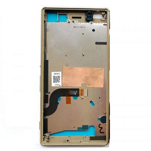 Front Housing for Sony Xperia M5 Gold