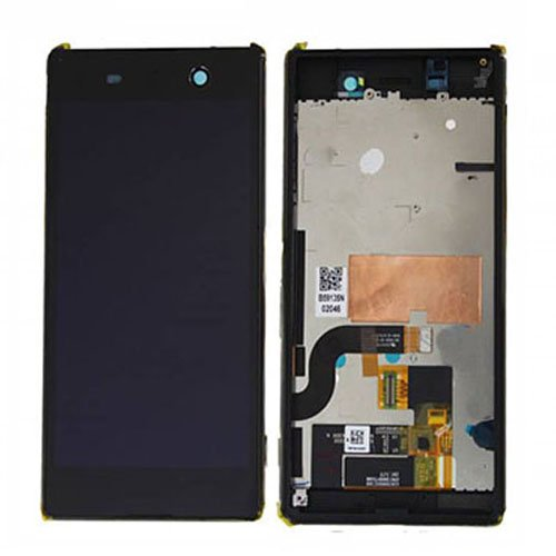 LCD Screen With Frame for Sony Xperia M5 Black