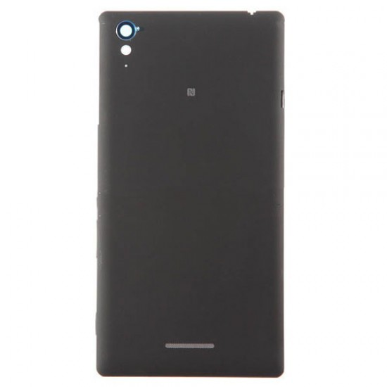 Battery Cover for Sony Xperia T3 With Sony Logo Black