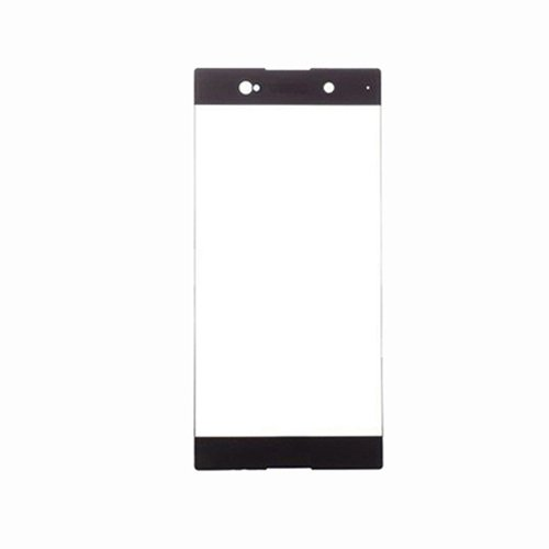 Front Glass Lens for Sony Xperia XA1 Ultra Black  (Third Party)