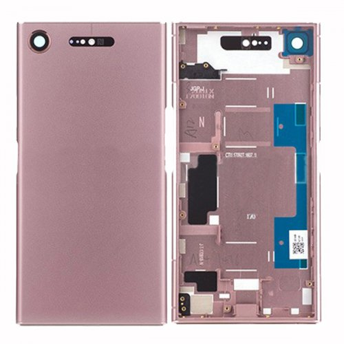 Battery cover  Assembly for Sony Xperia XZ1 Pink