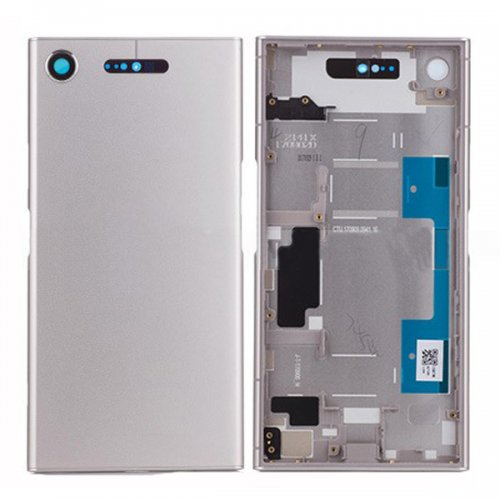 Battery cover  Assembly for Sony Xperia XZ1 Silver