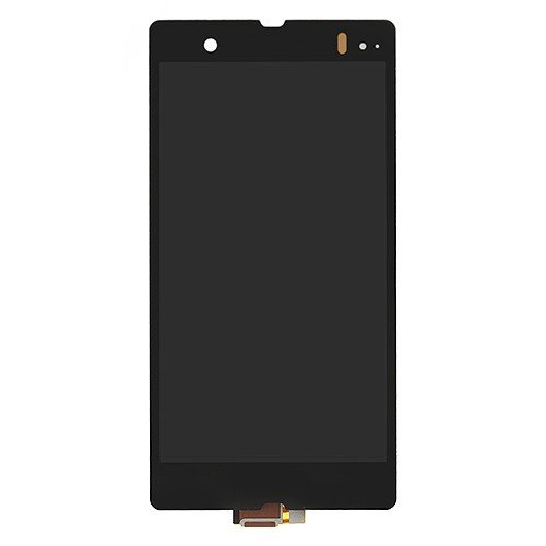 LCD Screen Display Assembly Replacement for Sony Xperia Z L36h Black