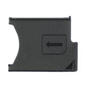 For Sony Xperia Z L36h SIM Card Tray Black