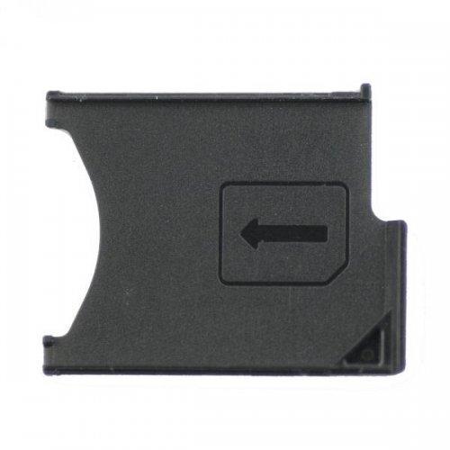 For Sony Xperia Z L36h SIM Card Tray Black