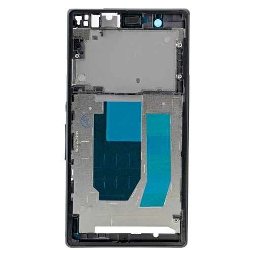 Front Frame for Sony Xperia Z Black Original