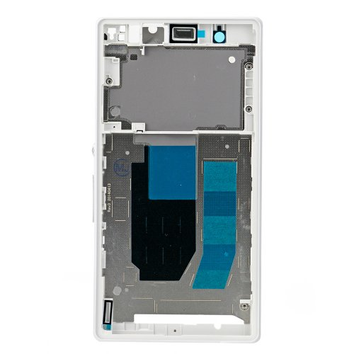 Front Frame for Sony Xperia Z White Original