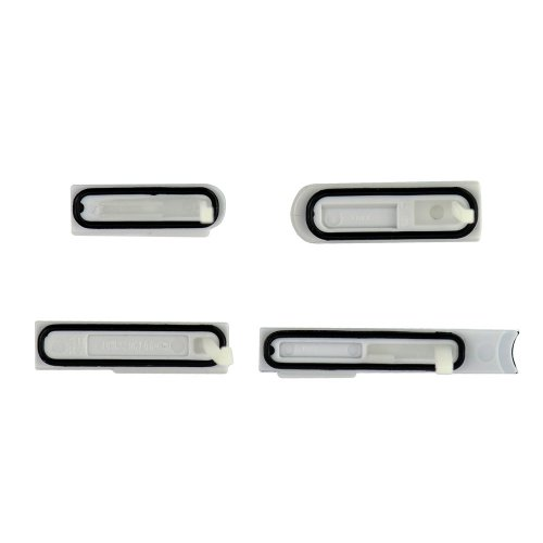 SD Card Cap Set for Sony Xperia Z L36H White