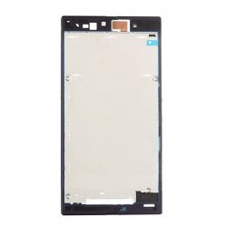 Front Housing for Sony Xperia Z Ultra Black