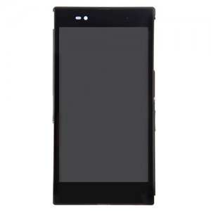 LCD Screen  with Frame for Sony Xperia Z Ultra XL39h/C6802/C6806 Black