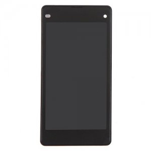 LCD with Frame for Sony Xperia Z1 Copmact D5503 Black
