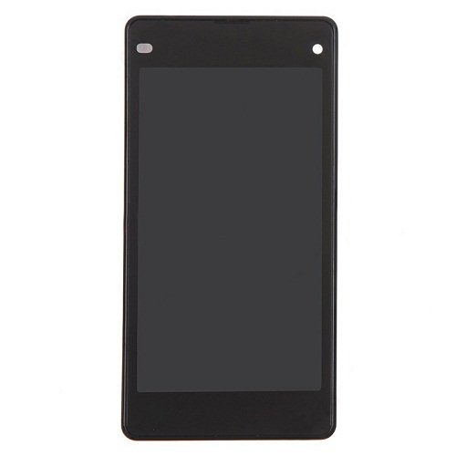 LCD with Frame for Sony Xperia Z1 Copmact D5503 Black Original