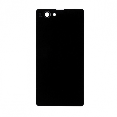 For Sony xperia z1 compact mini battery cover Black