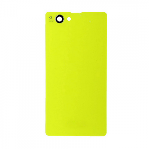For Sony xperia z1 compact mini battery cover Yellow