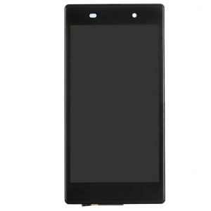 For Sony Xperia Z1 L39h LCD Screen Display Digitizer Assembly With Frame High Copy -Black