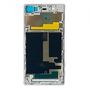 Front Frame for Sony Xperia Z1 White Original