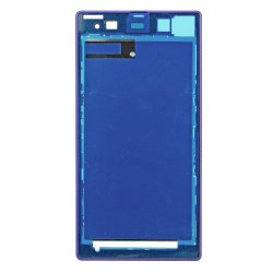 Front Frame for Sony Xperia Z1 Purple Original
