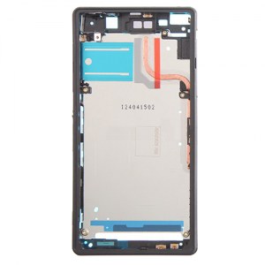 For Sony Xperia Z2 Front Housing LCD Frame Black