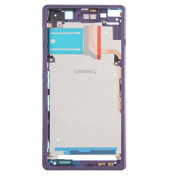 For Sony Xperia Z2 Front Housing LCD Frame Purple