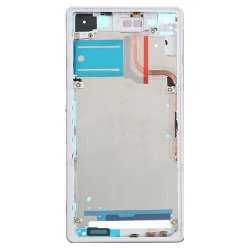 For Sony Xperia Z2 Front Housing LCD Frame White