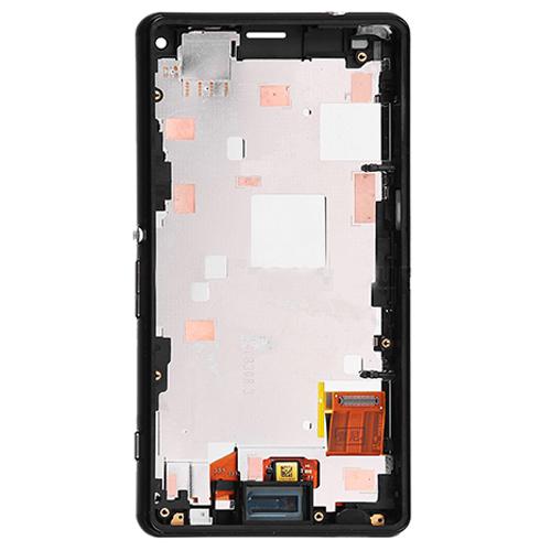 LCD with Frame for Xperia Z3 Mini Black OEM