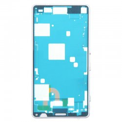 Front Frame for Xperia Z3 Mini White Original