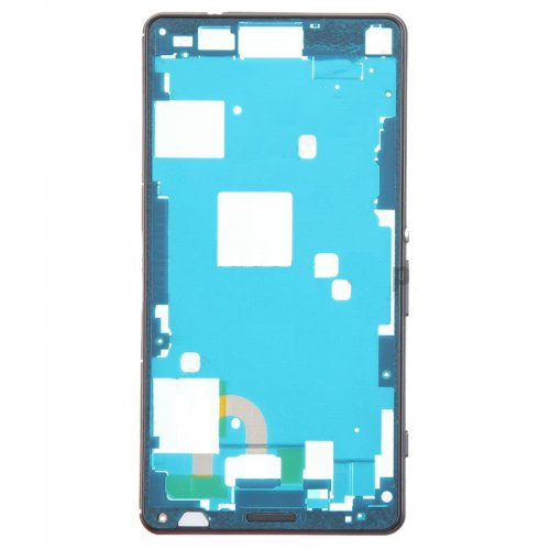 Front Frame for Xperia Z3 Mini Black Original