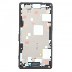 Front Frame for Xperia Z3 Mini Black Original