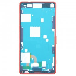Front Frame for Xperia Z3 Mini Orange Original