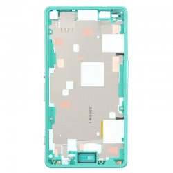 Front Frame for Xperia Z3 Mini Green Original