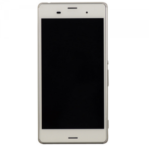 LCD Digitizer Assembly with Frame for Xperia Z3 White OEM